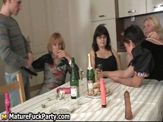 four busty mature girlfriends having part5