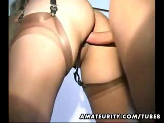 horny young older maiden takes drilled uneasy and