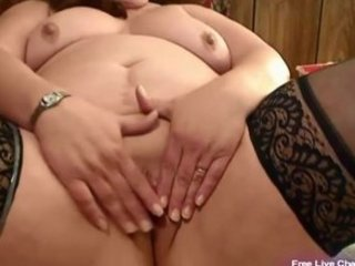 cougar bbw bangs her fat cave with device