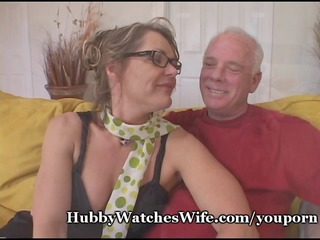 granny guy offers housewife to young stud