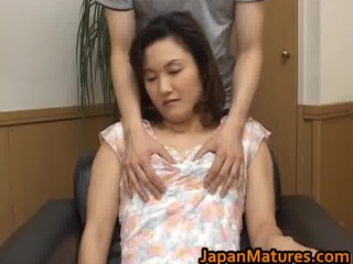 extremely impressive mature asian woman is