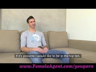 femaleagent. chick tests students endurance