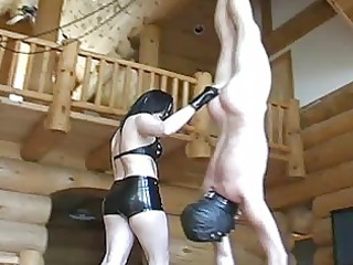 mature dominatrix chicks extreme balls busting