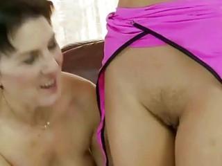 elderly enjoys sexy young girl