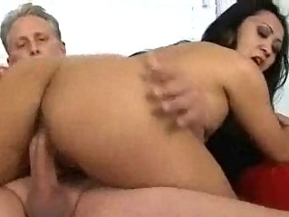 large chest eastern mature babe fucked and eats