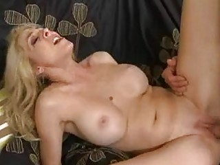 tight anal blond pale momma with huge bosom gets