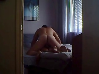 pale girl home sex video