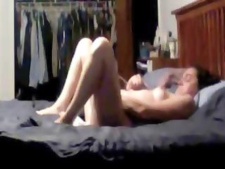 masturbation of my woman cught by hidden cam