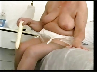 old granny still likes to have fun. amateur