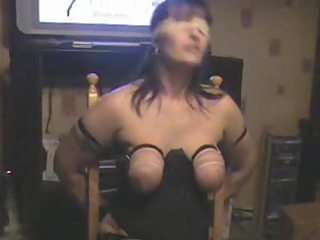 breast whipping my whore wife