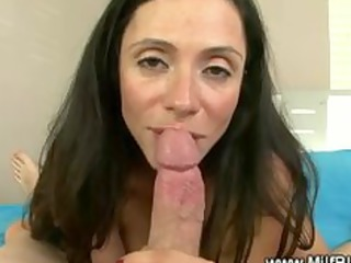 busty lady teases next cock sucking and russian