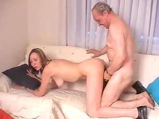 lucky elderly boy !