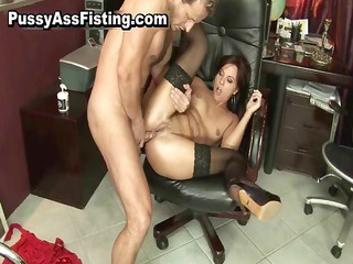 busty whore gets her gaping asshole part5
