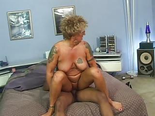 banged nipples tattoo granny inside nylons fucks