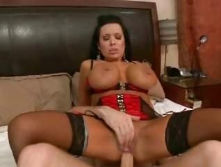 big penis slams ladies ass