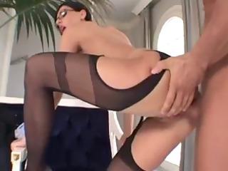 eva black sexy older lady anal