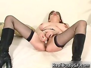 hot plump tits woman dildo pierced part4