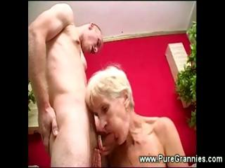 toothless granny fuck session