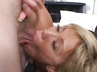 insane home wife acquires a facial