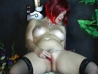 naughty fresh wife playing her clean pussy at home