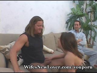 sloppy pop in wifes visage