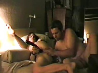 inexperienced hidden cam with plastic cock fuck