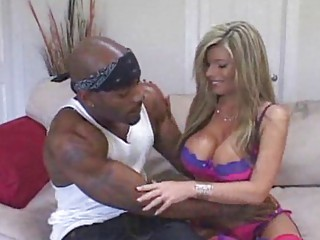 interracial woman sharing drill session