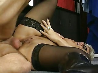 german lady lovely shape anal clip