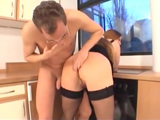 perverted naughty mature babe fucked inside the