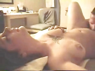 hubby flms his woman having porn video