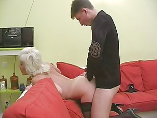 elderly inga with saggy bossom gets fucked.