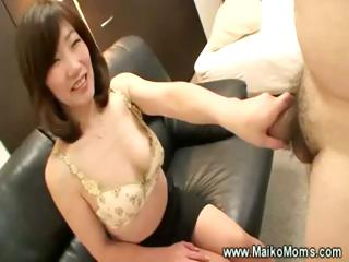 cougar japanese maiko seduces male
