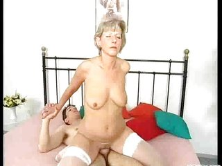 inexperienced mature copulate son1