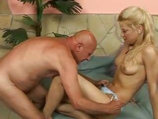 grandpa drilling pretty amateur albino sexy hard
