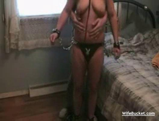 wedded milf roped and pierced