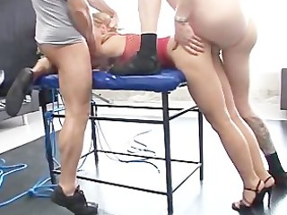 tied and drilled