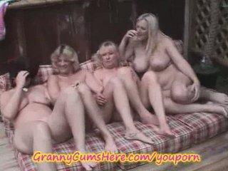 4 dike grannies into outdoor
