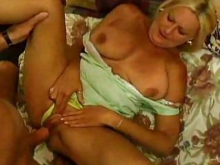 huge tit old sucks and copulates