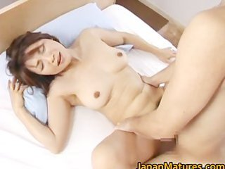 busty japanese grown-up angels licking part1
