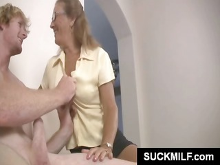 sweetie cougar lady and her daughter share a