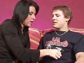 milf seduces her sons boyfriend