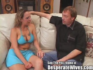 whore wife donna eating two awesome white cream