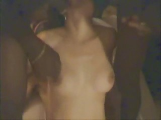 cuckold woman gangbanged inside front of husband
