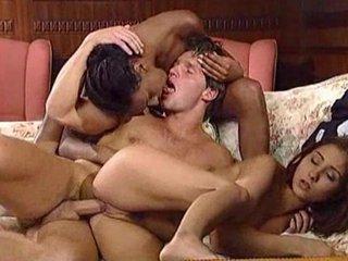 black and brunette maiden destroy lover