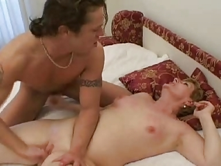 lady and boy passionate hard banging