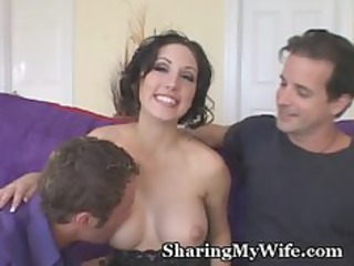 sissy hubby watches enormously impressive woman
