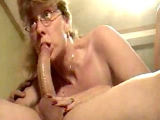 super older woman licking dick