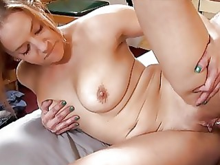 awesome tattooed momma with giant bosom licks
