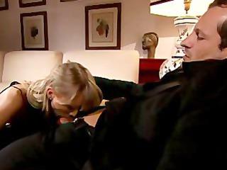 rich british chick blows a mean cannoli