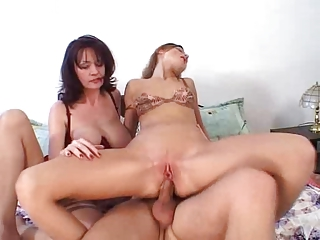 slutty game with mom and daughter